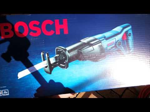 Видео обзор: Сабельная пила BOSCH GSA 120