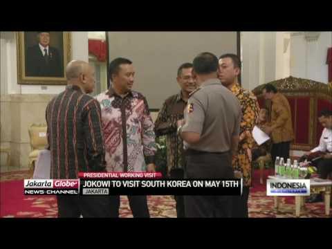 Jokowi To Visit South Korea & Russia