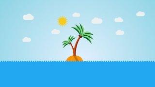The Adobe Illustrator Flat Design Tutorial: Desert Island #1
