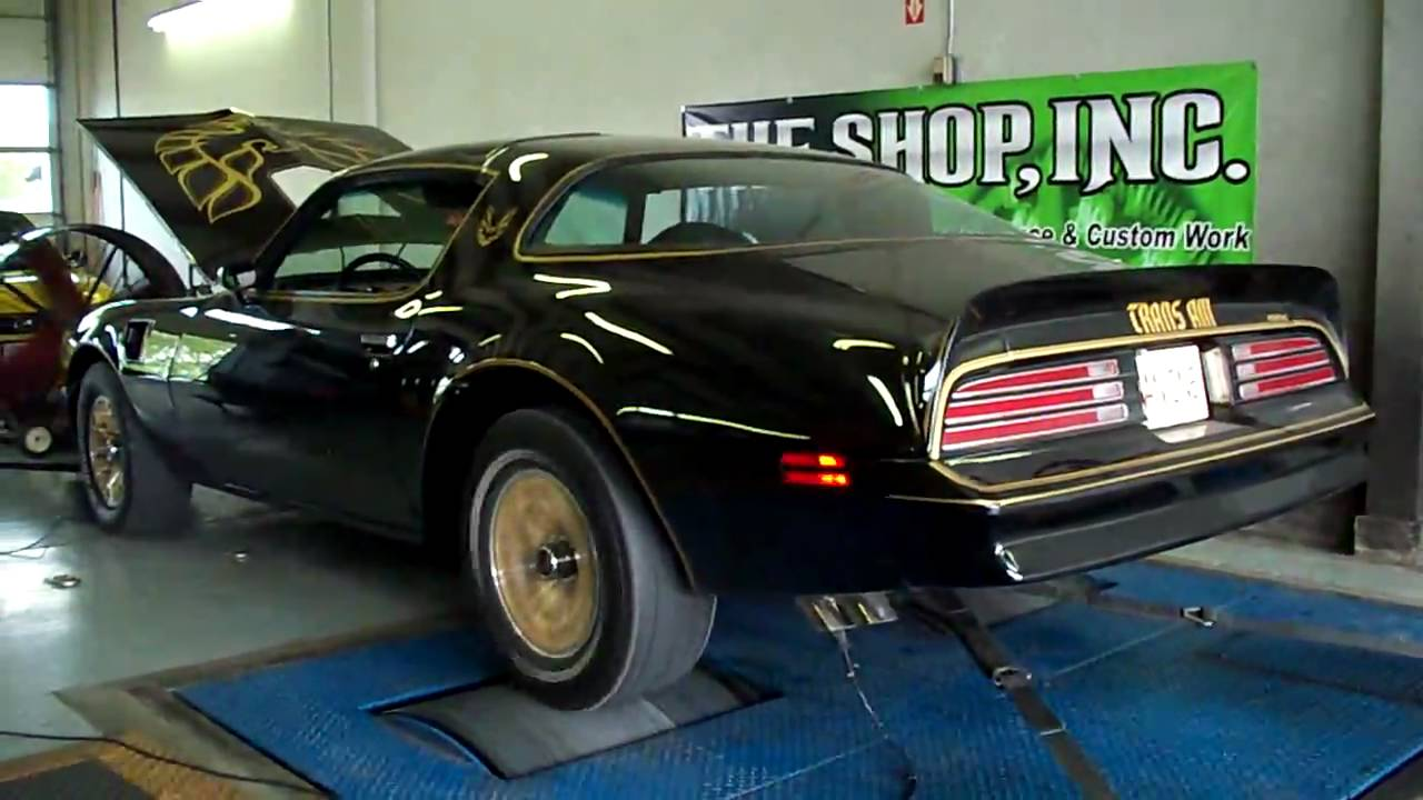 Restore A Muscle Car >> 77 Trans Am Special Edition - At the Dyno - 525HP - YouTube
