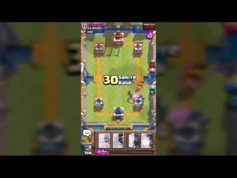Clash Royale %100 Kazanma Taktiği (kanıtı)