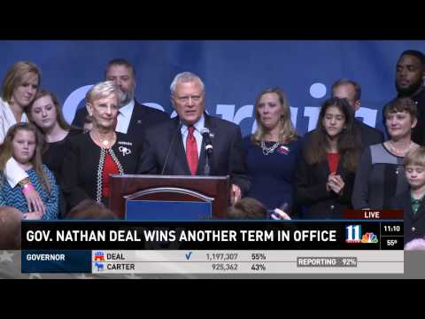 Georgia Gov. Nathan Deal wins another term