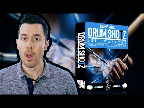 Drumshotz Joel Wanasek Now Available!