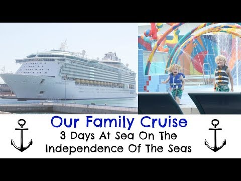 Our Family Cruise Holiday - How We Spent 3 Days At Sea On The Independence Of The Seas