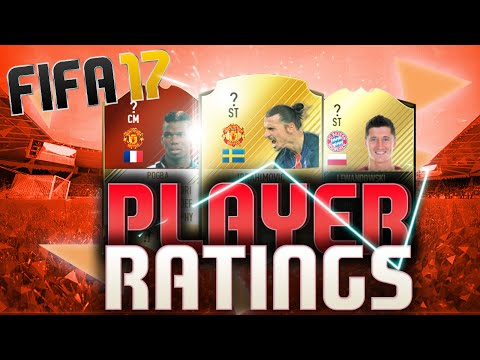 WTF FIFA 17 RATINGS FEAT. FC BAYERN UND MANCHESTER UNITED (DEUTSCH) FIFA 17 ULTIMATE TEAM
