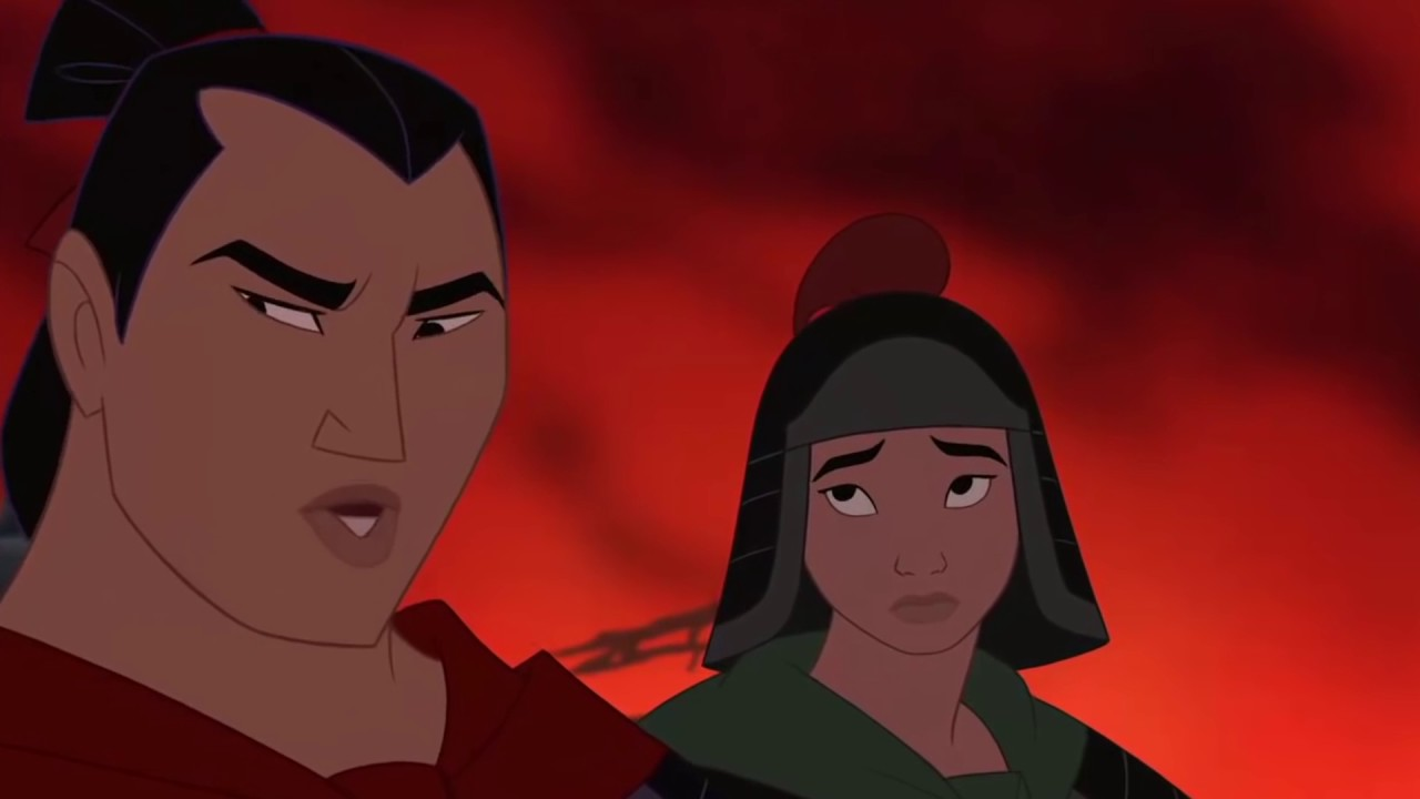 Uncategorized Mulan And Shang right hand man mulan and shang youtube shang