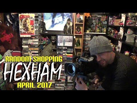 Random Shopping Hexham Car Boot Sale April 2017  VHS Camera, Grimlock & Darkman