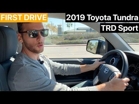 2019 Toyota Tundra TRD Sport FIRST DRIVE