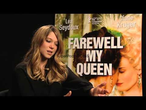 INTERVIEW  Lea Seydoux 62nd Berlin International Film Festival 10 February 2012