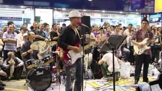 風雲(電視劇風雲主題曲) -- Ah Lam  --  3L樂隊旺角街頭音樂會