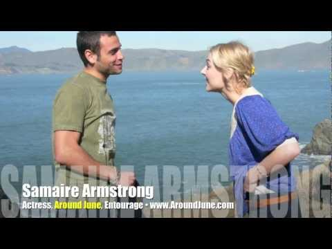 Lovely Samaire Armstrong Talks Entourage, Around June! INTERVIEW