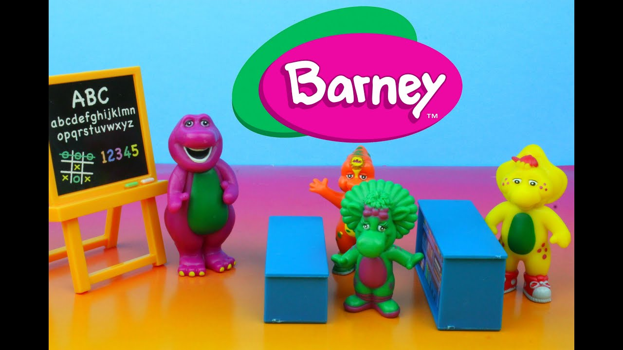 Barney Classroom Playset With Baby Bop Riff Bj Sing Along Abcs
