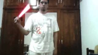 1st light saber (red) 15 sec test Thumbnail