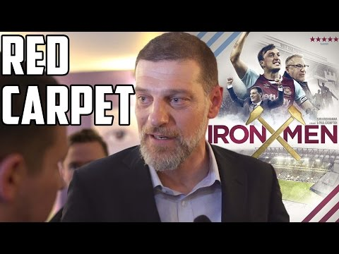 Iron Men Red Carpet Interviews - Ray Winstone, Bilic, Collins, Harewood