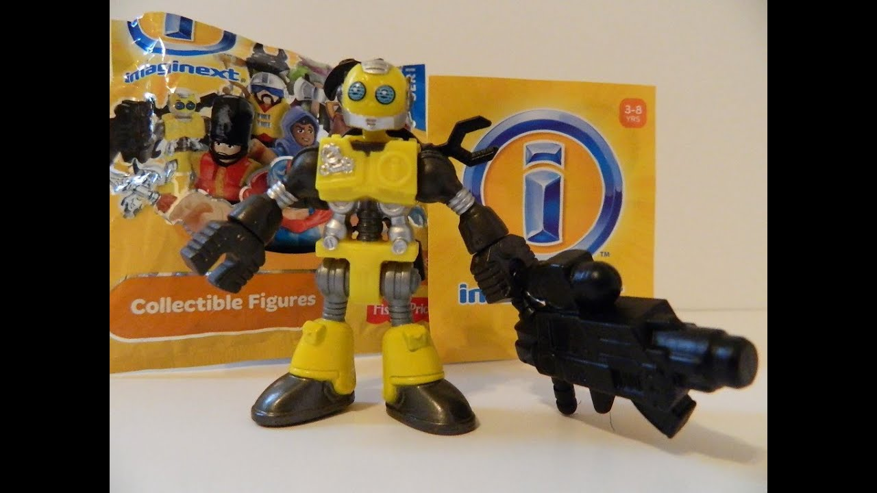imaginext robot fisher price figure toy review youtube. Black Bedroom Furniture Sets. Home Design Ideas