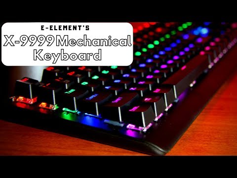 a8dee147c7f Best Budget Mechanical Keyboard? (E-Element's K-9999 Mechanical Keyboard) -  YouTube