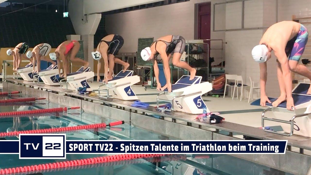 SPORT TV22: Spitzen Talente im Triathlon beim Training in Innsbruck mit Mario Huys