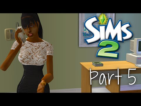 Lets Play: The Sims 2 - Part 5 | First Date
