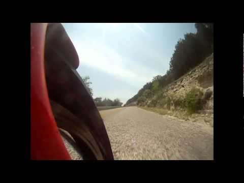 HG rides hwy 335 rollercoaster twisted sisters Tx hill country 5-5-12.avi