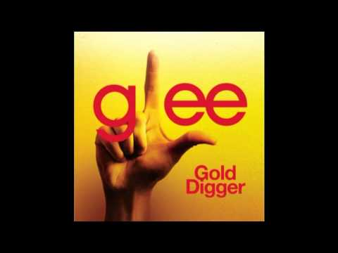 Gold Digger  Glee Cast Version Full HQ Studio