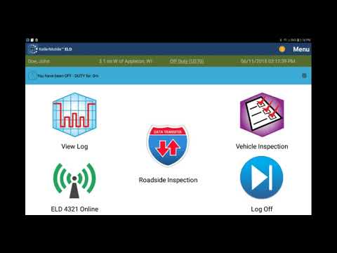 Android™ 30 Minute Rest Break - KellerMobile® ELD