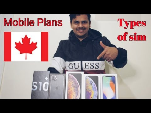 Phone Plans And Mobile Phones In Canada