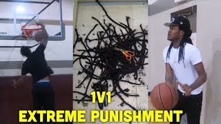 1v1 IRL Punishment My DREADS on the Line 🏀