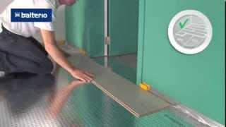 Пример укладки ламината от дверного проема(Как правильно выбрать подложку под ламинат? http://goo.gl/rtGzrs Мастер-класс по укладке ламината. Пример укладки..., 2013-12-12T11:38:00.000Z)