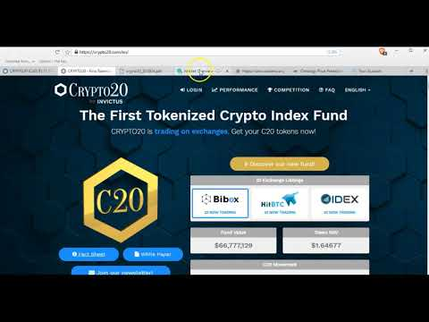Crypto 20 coin review... a crypto index fund