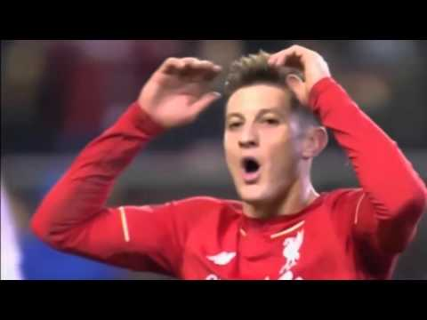 Ливерпуль - Манчестер Юнайтед 2:0. 1/8 Лиги Европы. 2015/16 (Liverpool - Manchester United) HD