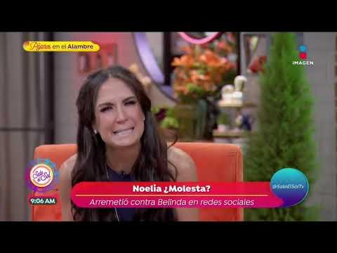 ¡Noelia estalla contra Belinda en redes sociales  Sale el Sol