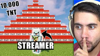 Trolling A Youtubers Livestream - Minecraft