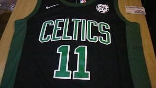 Баскетбольная джерси Nike NBA Boston Celtics №11 Kyrie Irving черная  магазин Basket Family