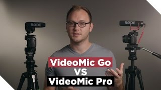 RODE VideoMic Go VS VideoMic Pro