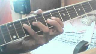 O O Jaane Jaana full tutorial on guitar