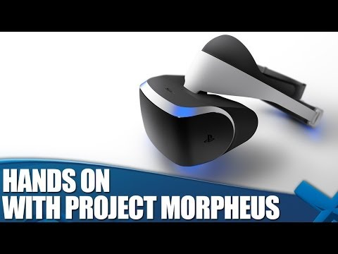 First Hands-on with Project Morpheus - Virtual Reality on PS4!