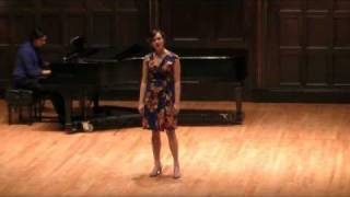 2011 Lotte Lenya Competition: Caitlin Mathes