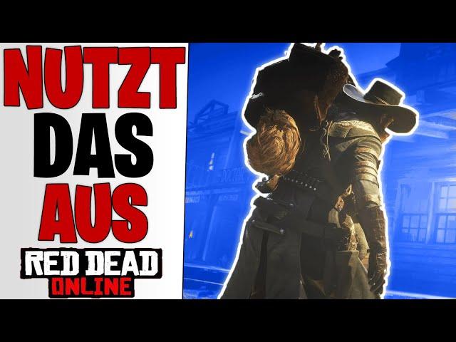 SOLLTET IHR NUTZEN - Sehr Einfach & Schnell Geld Verdienen | Red Dead Redemption 2 Online Tipps