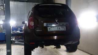Катализатор Рено. Замена катализатора Renault Duster. Москва.(, 2014-01-31T14:57:07.000Z)