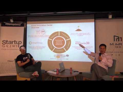 Startup Grind Seoul hosts Sunny Kim