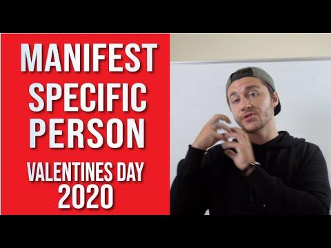 Data Driven Manifesting a Specific Person (2020 Valentines Day Neville Goddard)