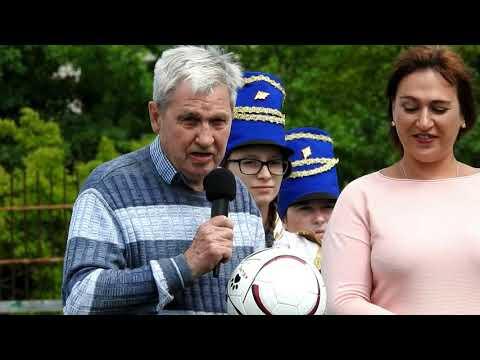 Товарищеская встреча по футболу в Калязине. ветераны Калязина и ветераны Москвы июннь 2019