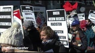 anti-racismemars vanaf de Dam naar het Museumplein Amsterdam 2018