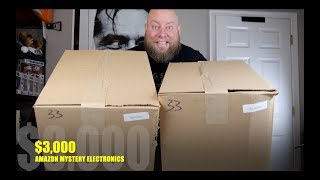 I bought a ,130 Amazon Customer Returns Electronics Pallet / Mystery Boxes + HIGH END SAMSUNG