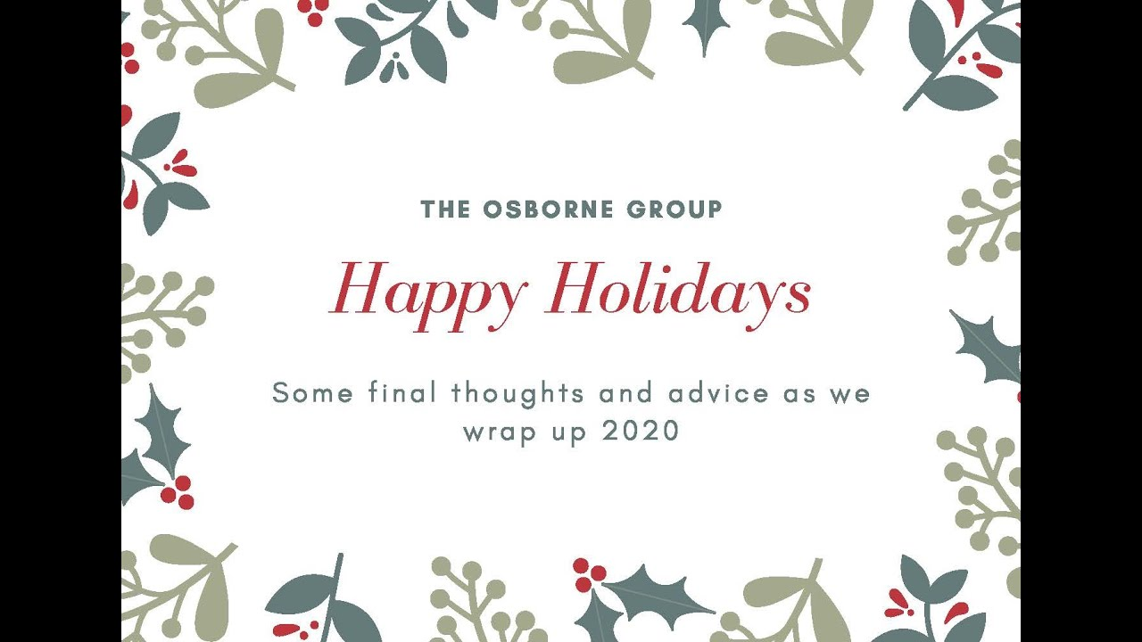 Happy Holidays from The Osborne Group