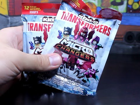 BLIND BAGS - TRANSFORMERS - KRE-O MICRO CHANGERS