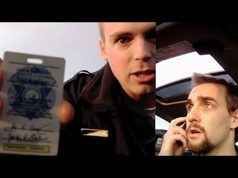 Man Calls 911 on Suspicious Cop and Schools Him!