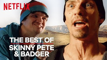 Breaking Bad | The Best of Skinny Pete & Badger | Netflix