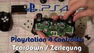 Playstation 4 (PS4) Controller Zerlegung / Teardown / Disassembly Tutorial in Full HD