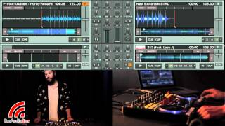 Vestax VCI-400 Walkthrough - DJ GhostDad - ProAudioStar.com